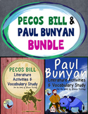 Paul Bunyan Pecos Bill Tall Tales Bundle Great for ESL ELL SPED