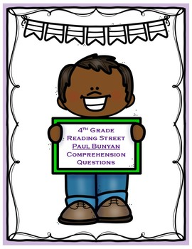 Paul Bunyon - 4th Grade Reading Street