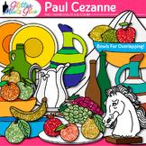 Paul Cezanne Clip Art: Still-Life Shapes for Art History {Glitter Meets Glue}
