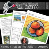 Paul Cézanne Worksheets and Art Activities - No Prep Art History