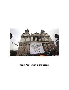 Paul Epistles Gospel Application in Corinthians