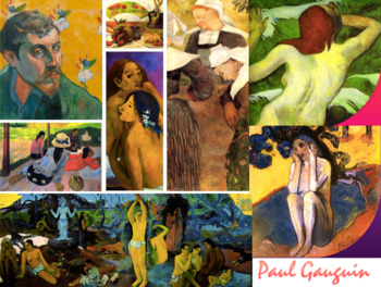 Paul Gauguin Art History Post Impressionism Symbolism FREE POSTER