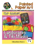 Art History Lessons: Paul Gauguin's Landscapes and Tiki Masks