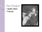Paul Gauguin PowerPoint