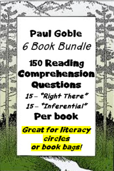 Paul Goble - Native American Stories - Question Bank BUNDLE Save 50%