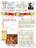 Artist Paul Klee BUNDLE with Montessori Cards
