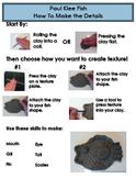 Paul Klee Fish - Instruction Sheet Details
