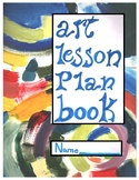Paul Klee Inspired Abstract Art Planner Cover