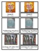 Paul Klee Montessori 3 Part Cards with Display Card