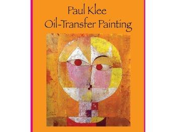 Paul Klee Oil Transfer Painting