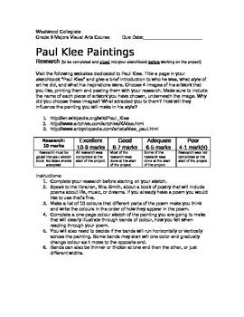 Paul Klee Painting