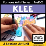 Paul Klee Project-Based Art Unit for Famous Artist Series