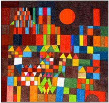 Paul Klee Sun Mural