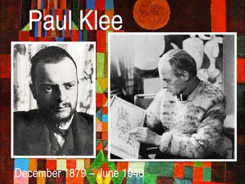 "Paul Klee ""Twittering Machine"" Birds"