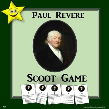 Paul Revere Scoot Game