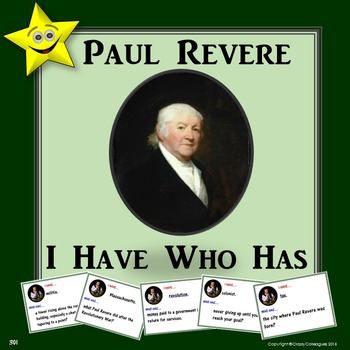 Paul Revere I Have Who Has
