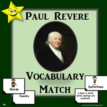 Paul Revere Vocabulary Match