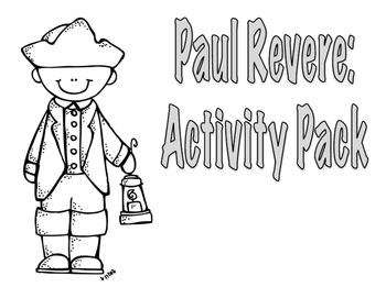 Paul Revere Activities Pack