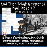 Paul Revere American Revolution Activity by Jean Fritz