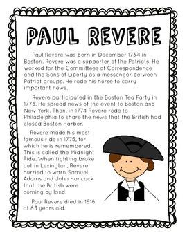 Paul Revere Bio