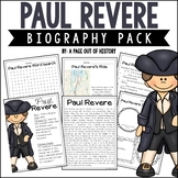 Paul Revere Biography Pack (Revolutionary Americans)