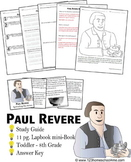 Paul Revere Biography Report (K-8th)