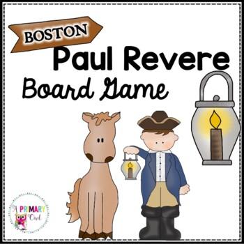 Paul Revere Board Game