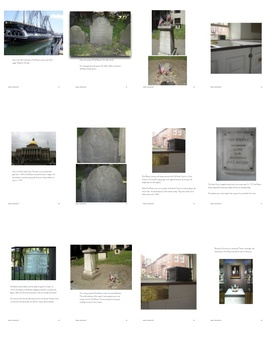 Paul Revere Book - Printable American Revolution-Photographs