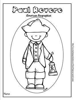 Paul Revere Bundle Pack (Task Cards Included)