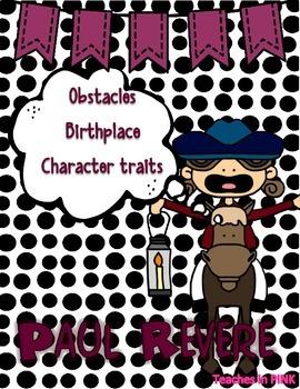 Paul Revere {Character Man} #thirdgradetribe