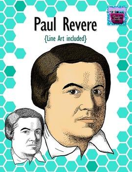 Paul Revere Clipart - Realistic Image