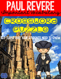 Paul Revere Crossword