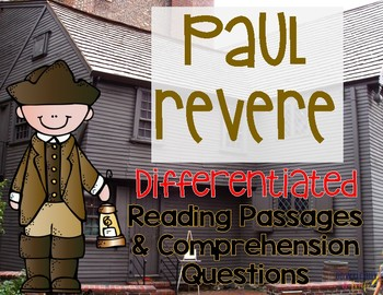 Paul Revere Differentiated Reading Passages