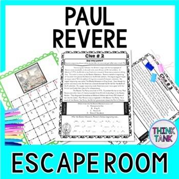 paul revere escape room american revolution boston tea party