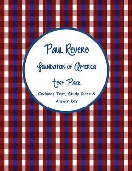Paul Revere: Foundation of America Test Pack