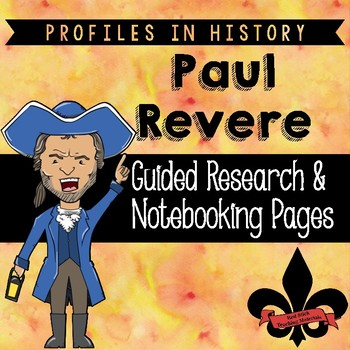 Paul Revere Guided Research Activity