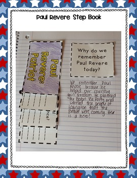 Paul Revere : Interactive Notebook Activities