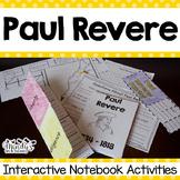 Paul Revere : Interactive Notebook Activities