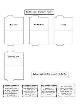 4th Grade (NEW GSE) Social Studies Paul Revere Lapbook
