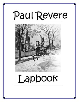 Paul Revere Lapbook