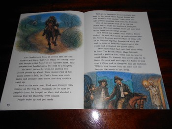 Paul Revere: Midnight Rider McGraw Hill 4th Grade Leveled Book + Poem