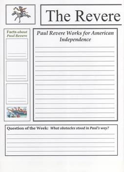Paul Revere Newspaper