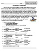 Paul Revere Packet: Reading Comprehension, Study Guide & Test