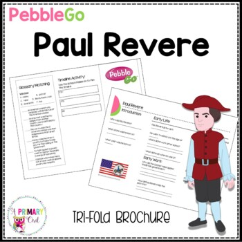 Paul Revere PebbleGo research brochure
