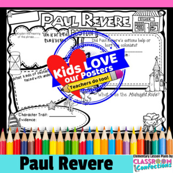 Paul Revere Poster Activity