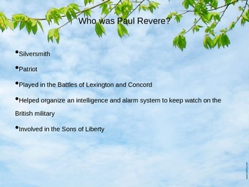 Paul Revere PowerPoint