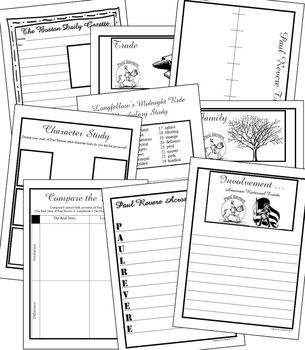 Paul Revere Project & Notebooking Unit (American Revolution)