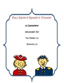 Paul Revere Reader's Theater