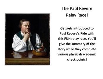 Paul Revere Relay Race!