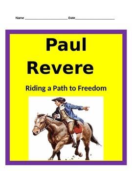 Paul Revere BUNDLE-  3rd Grade Social Studies